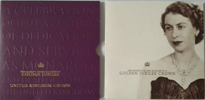 2002 BU £5 Crown Pack – HM Queen Elizabeth II Golden Jubilee